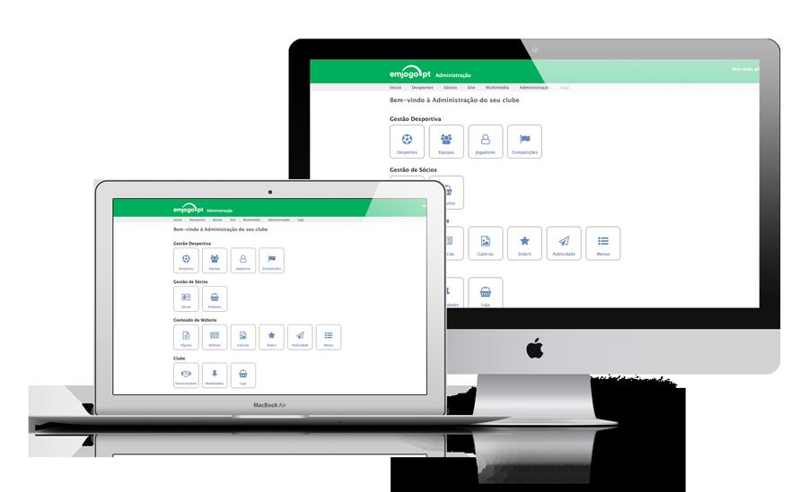 Software de gestão e comunicação clubes desportivos (futebol, futsal, etc.)