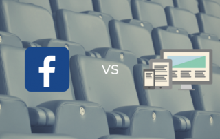 Facebook vs Website para clubes desportivos
