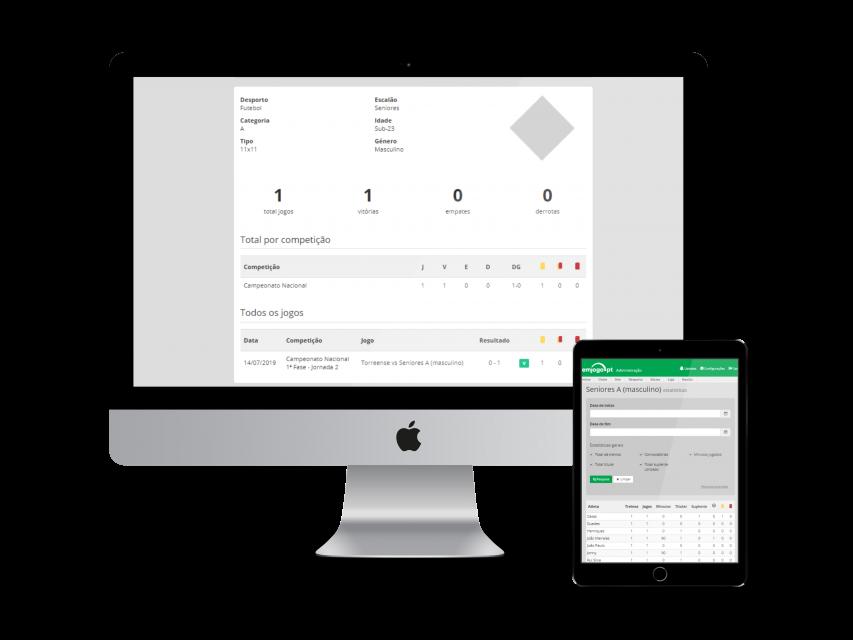 Software gestão competições e jogos desportivos