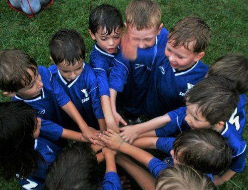 O papel de um clube desportivo na formação de uma criança