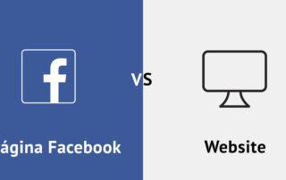 Facebook vs Website para clubes desportivos