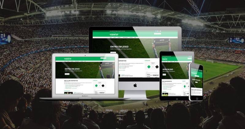 vantagens website clube desportivo